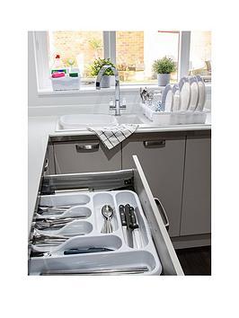 Wham Wham Casa 4-Piece Kitchen Tidy Set - White Picture