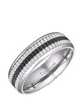 titanium-black-stripe-6mm-polished-and-matt-band