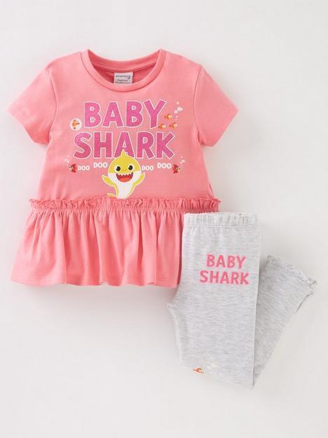 baby-shark-girls-baby-shark-2-piece-shortnbspsleeve-t-shirt-and-legging-set