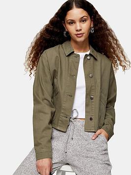 topshop-mish-jacket-khaki