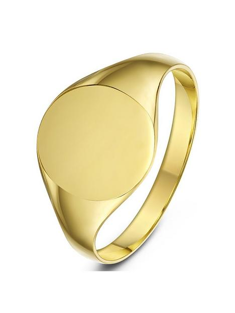 love-gold-9ct-yellow-gold-oval-shape-ladies-signet-band