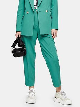 Topshop Topshop Kiki Peg Trousers - Mint Picture