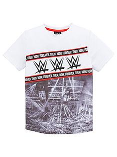 wwe-boys-wwe-ring-print-t-shirt-white