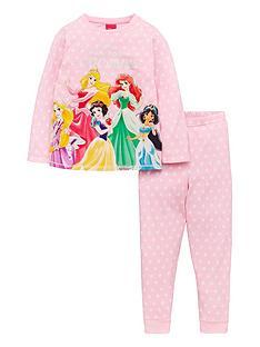 disney-princess-girlsnbspown-your-crown-pjs-pink