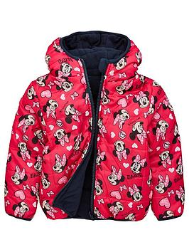 minnie-mouse-girls-minnie-mouse-reversible-padded-jacket-multi