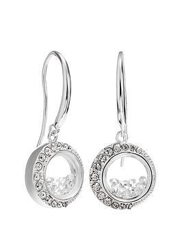 Jon Richard Jon Richard Jon Richard Swarovski Moon Shaker Earrings Picture