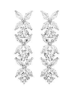 jon-richard-jon-richard-bridal-cubic-zirconia-crystal-floral-tennis-drop-earrings