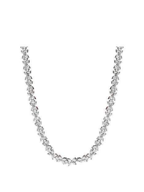 jon-richard-jon-richard-bridal-cubic-zirconia-crystal-floral-tennis-allway-necklace