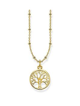 Thomas Sabo Thomas Sabo Thomas Sabo Gold Plated Sterling Silver Tree Of  ... Picture