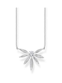 Thomas Sabo Thomas Sabo Sterling Silver Leaf Necklace