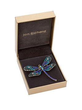 jon-richard-jon-richard-blue-and-multi-colour-pave-dragonfly-brooch