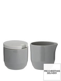 typhoon-cafeacute-concept-greynbspsugar-pot-and-creamer