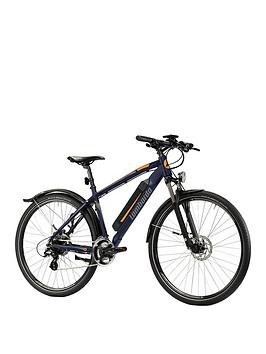 Lombardo    Valderice Mtb Alloy Frame Electric Mountain Bike - Black/Orange