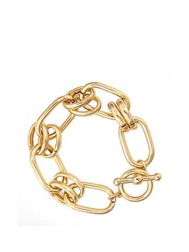 Mood Mood Gold Plated Chain Link Bracelet Picture