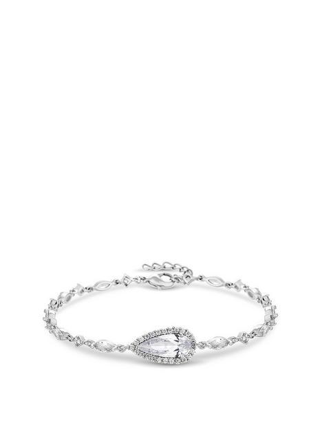 jon-richard-bridal-cubic-zirconia-classic-navette-pear-bracelet