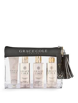 Grace Cole Grace Cole Grace Cole Mini Travel Set- Vanilla Blush & Peony Picture
