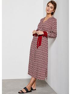 mint-velvet-samantha-print-boho-midi-dress-red