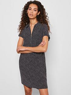 mint-velvet-spot-throw-on-midi-shirt-dress-black