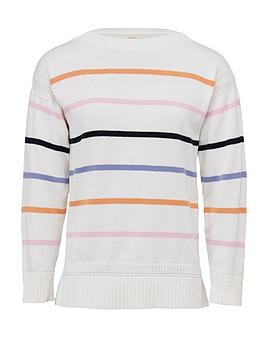 Barbour    Marine Striped Knitted Jumper - Multi