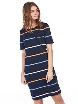 barbour-stokehold-dress-navy