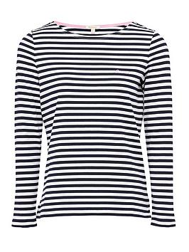 Barbour    Hawkins Striped Jersey Top - Multi