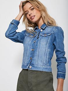 mint-velvet-puff-shoulder-denim-jacket-bluenbsp