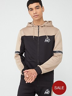 kings-will-dream-vesy-zip-through-hoodie-black