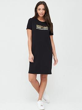 Barbour International Barbour International Thunderbolt Dress - Black Picture