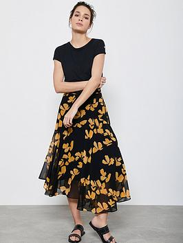 Mint Velvet Mint Velvet Jessica Floral Midi Skirt - Multi Picture