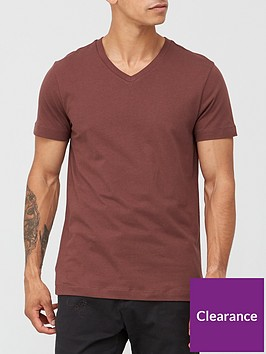 very-man-essentials-v-neck-t-shirt-burgundy