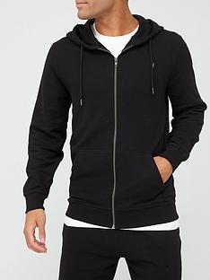 very-man-essential-zip-front-hoodie-black