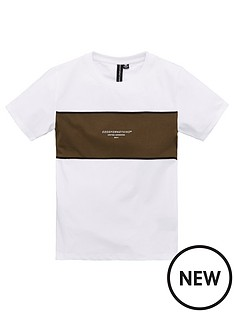 good-for-nothing-boys-panel-short-sleeve-t-shirt-white