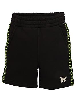 Good For Nothing Good For Nothing Boys Taped Butterfly Jog Shorts - Black Picture