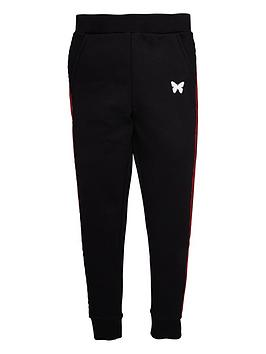 Good For Nothing Good For Nothing Boys Taped Jog Pants - Black Picture