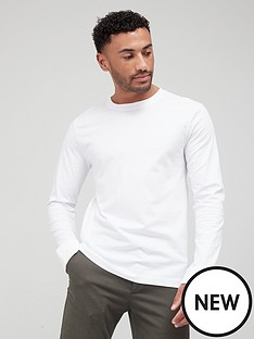 very-man-essentials-long-sleeve-t-shirt-white