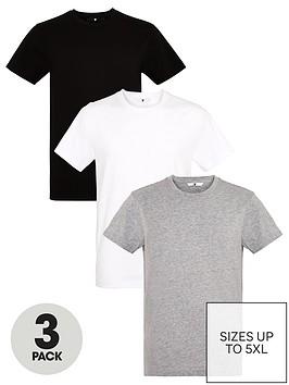very-man-3-pack-ofnbspessentialsnbspcrew-necknbspt-shirt-blackwhitegrey