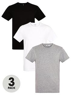 very-man-3-pack-ofnbspessentialsnbspcrew-t-shirt-blackwhitegrey