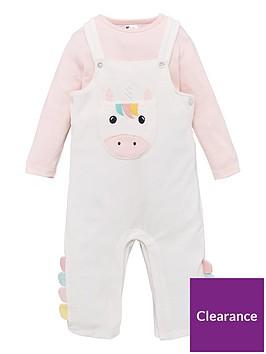 v-by-very-baby-girls-unicorn-romper-ampnbspbodysuit-set-multi
