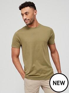 very-man-essentials-crew-t-shirt-khaki
