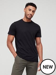 very-man-essentials-crewnbspnecknbspt-shirt-black