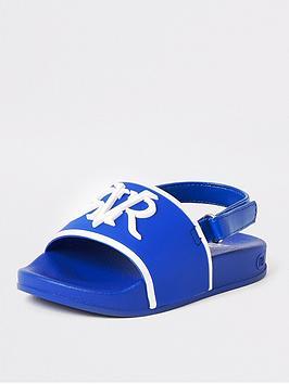river-island-mini-boys-rvr-sliders-blue