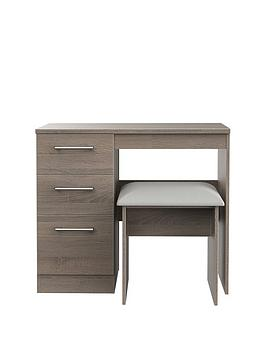 Swift Swift Halton Ready Assembled Dressing Table And Stool Set Picture