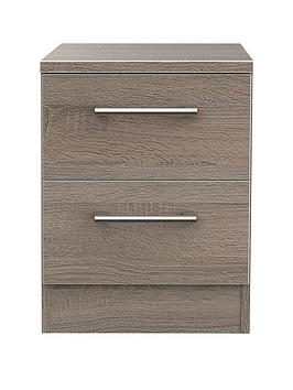 Swift Swift Halton Ready Assembled 2 Drawer Bedside Chest Picture