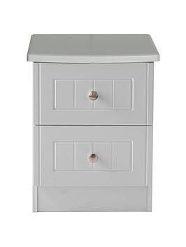 Swift Swift Dakota Ready Assembled 2 Drawer Bedside Chest Picture