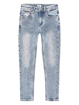 River Island River Island Boys Prolific Sid Skinny Jeans -Light Blue Picture