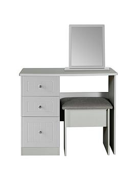 Swift Swift Dakota Dressing Table, Stool And Mirror Set Picture