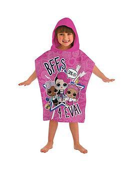 L.O.L Surprise! L.O.L Surprise! Sing It Hooded Poncho Towel Picture