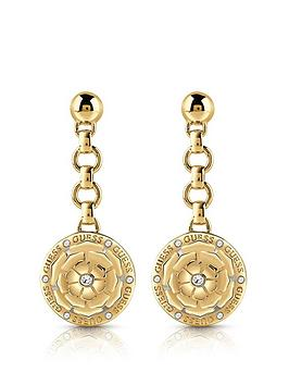 Guess Guess Peony Charm Drop Earrings Picture