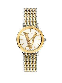 Versace Versace Virtus Sport Luxury Chain Strap Watch