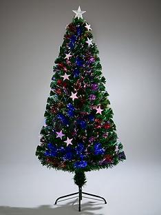 festive-4ft-fibre-optic-silver-star-christmas-tree